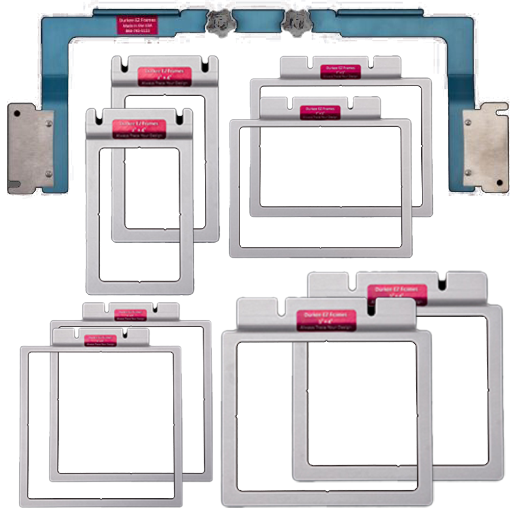 Durkee EZ Frame 9pc Set - SWF 12 needle Promo Pack