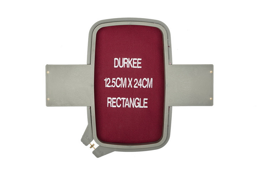 Durkee 12.5CM x 24CM (5 in. x 9 in.) Rectangle Traditional Embroidery Hoop - Compatible with Many Machines