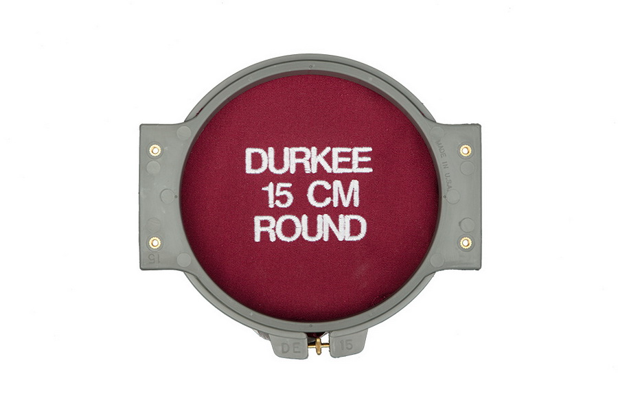 Durkee 15CM (5.5 in) Round Traditional Embroidery Hoop  - Compatible with Many Machines