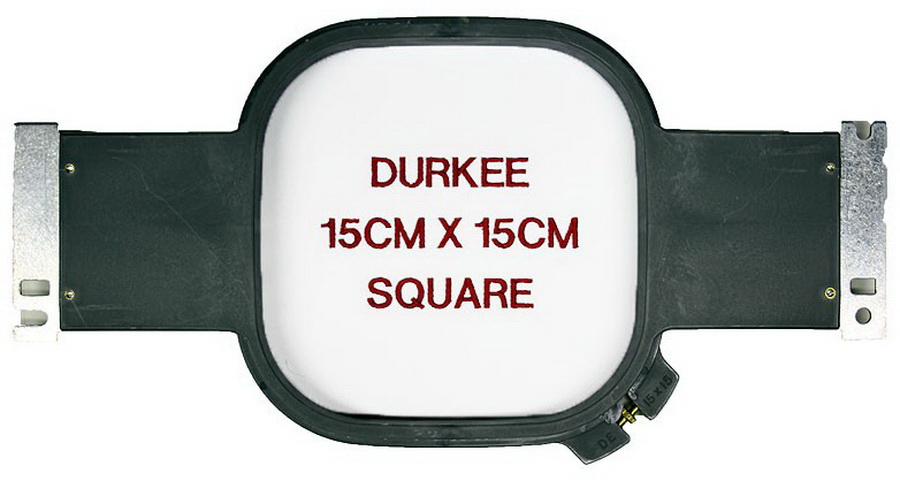 Durkee 15CM x 15CM (6 in. x 6 in.) Square Traditional Embroidery Hoop - Compatible with Many Machines