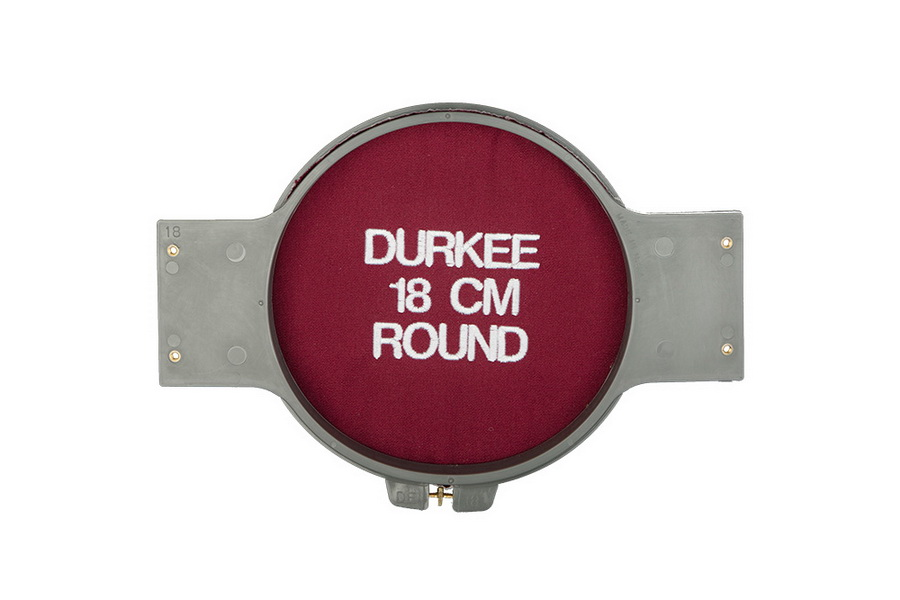 Durkee 18CM (6.5 in) Round Traditional Embroidery Hoop - Compatible with Many Machines