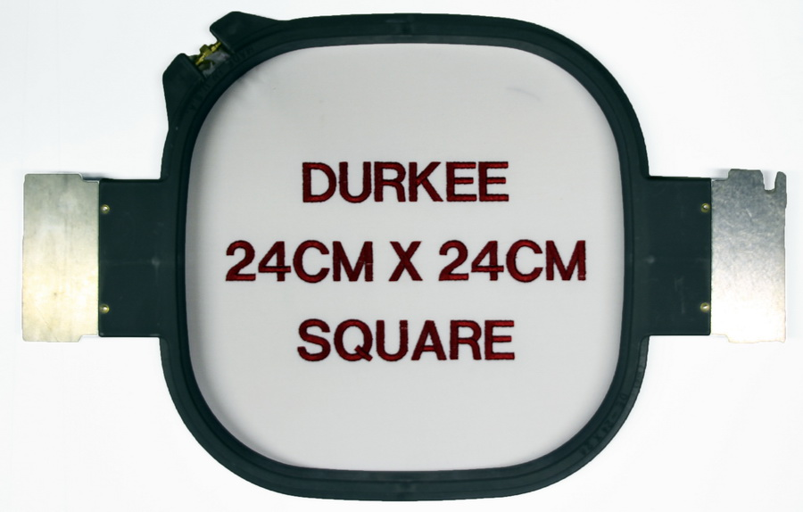 Durkee 24CM x 24CM (9 in. x 9 in.) Square Traditional Embroidery Hoop - Compatible with Many Machines