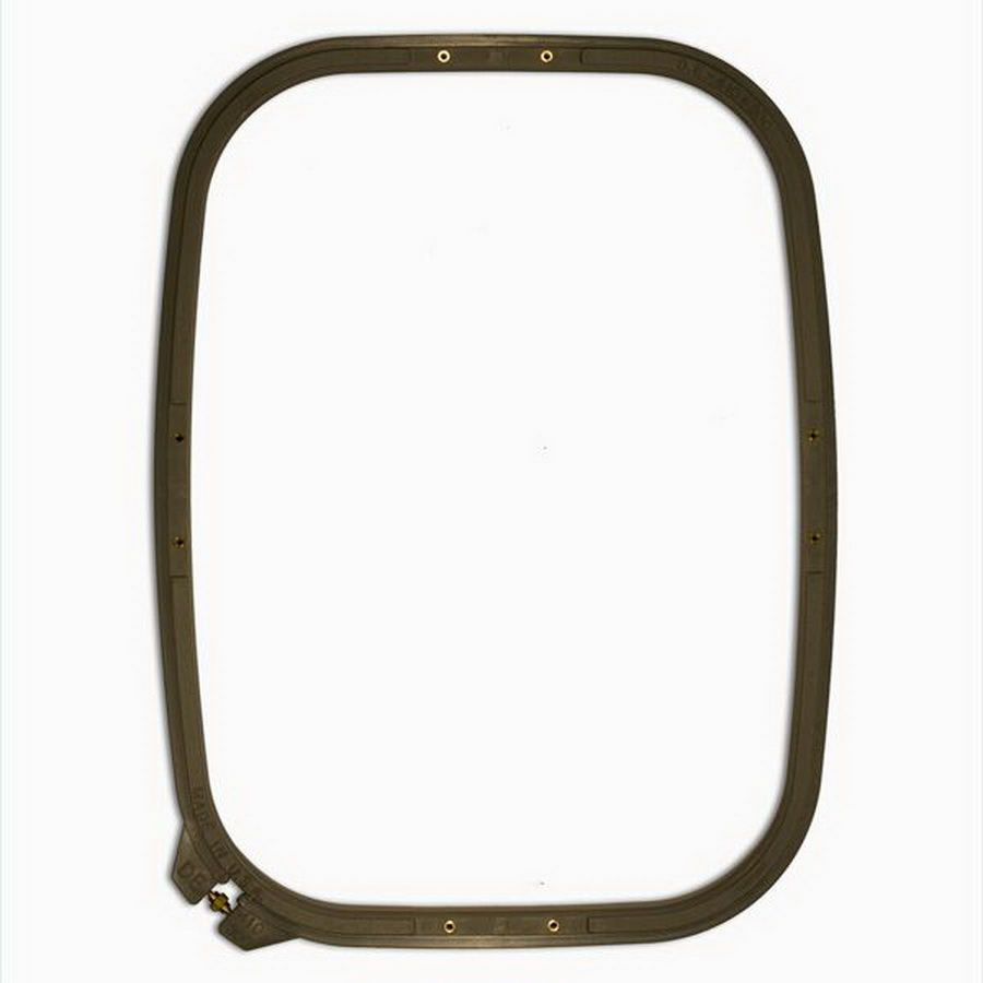 Durkee 300MM x 410MM (12 in. x 16 in.) Square Traditional Embroidery Hoop - Compatible with Many Machines