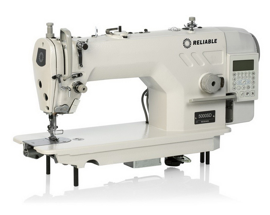Reliable 5000SD Direct Drive Sewing Machine and Uberlight 3100TL Light Lamp Included