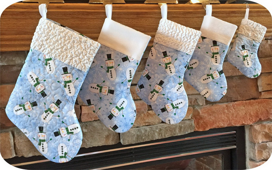 Embroidery Garden Holiday Stockings