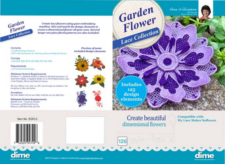 Embroidery Garden Flower Lace Collection
