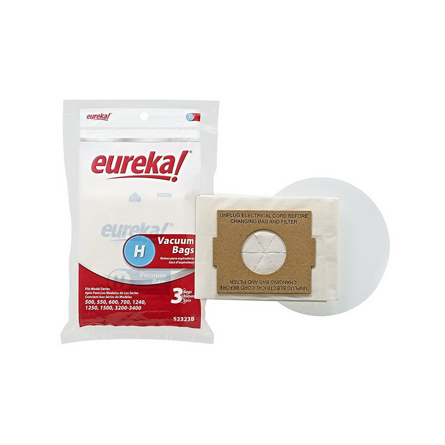 Eureka Disposable Dust Bags, Type H
