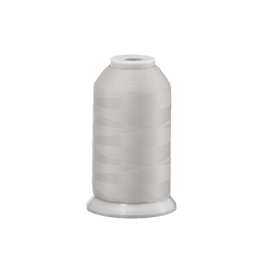 Exquisite Polyester Embroidery Thread - 101 Light Silver 1000M or 5000M