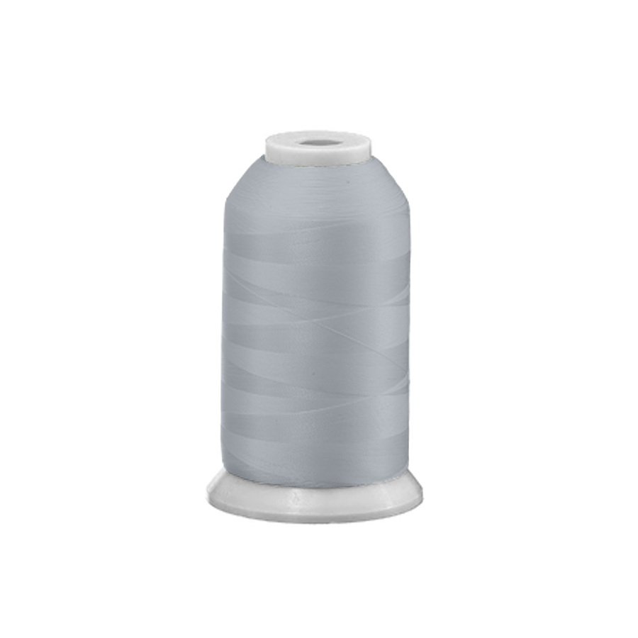Exquisite Polyester Embroidery Thread - 102 Dove Grey 1000M Spool