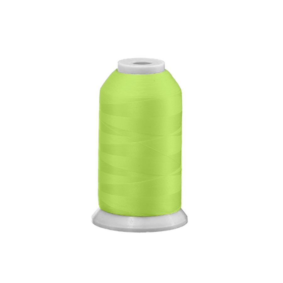 Exquisite Polyester Embroidery Thread - 21 Spring Green 1000M or 5000M
