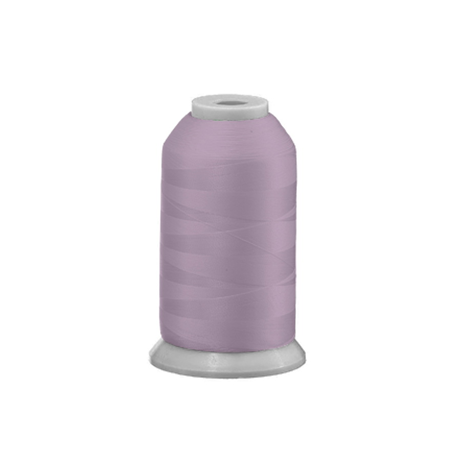 Exquisite Polyester Embroidery Thread - 387 Bridesmaid Pink 1000M Spool