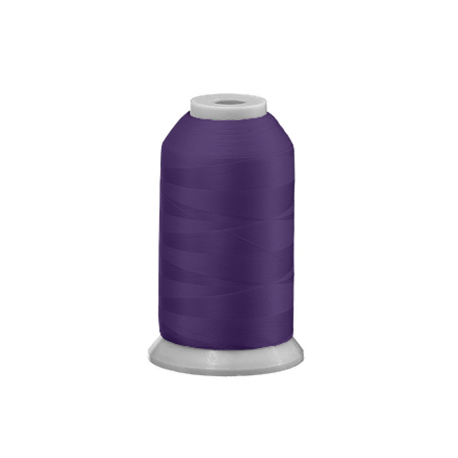Exquisite Polyester Embroidery Thread - 398 Purple Shadow 1000M or 5000M