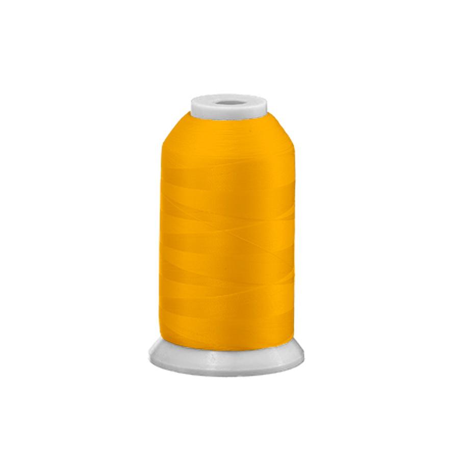 Exquisite Polyester Embroidery Thread - 42 Light Neon Orange 1000M Spool
