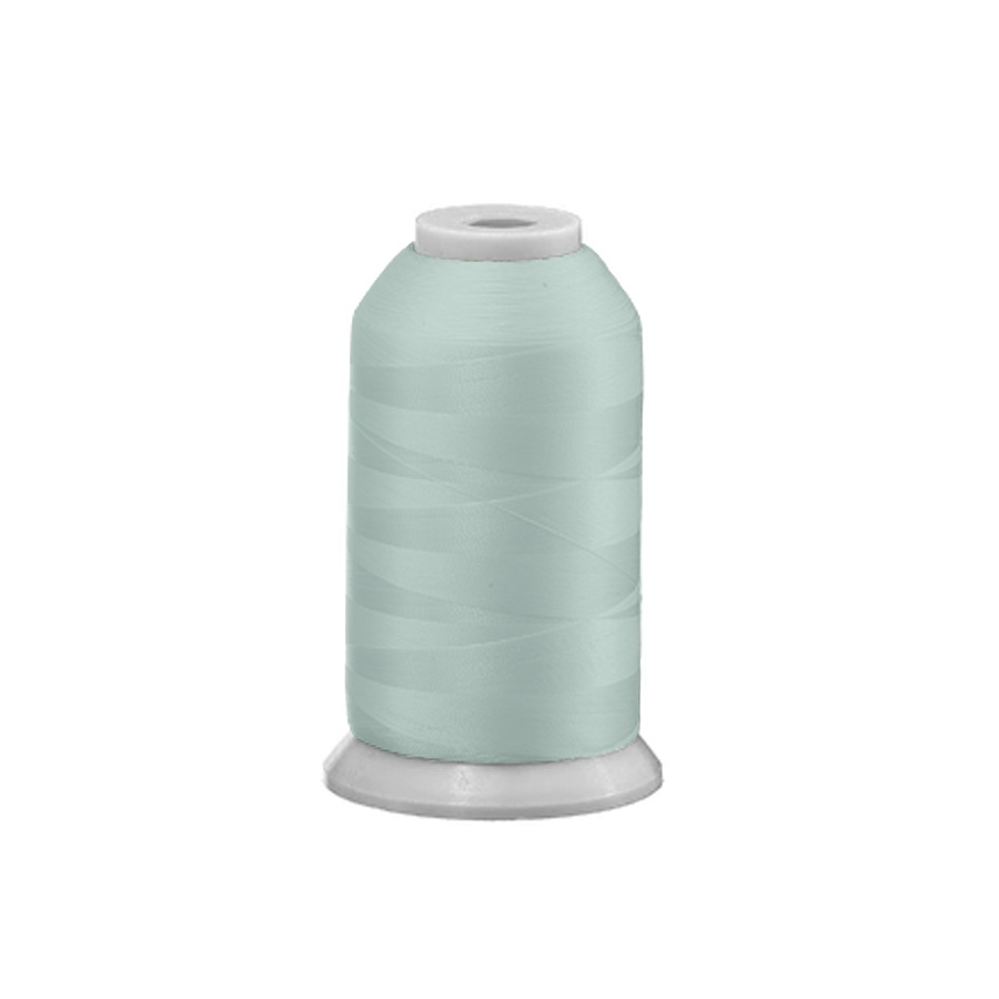 Exquisite Polyester Embroidery Thread - 442 Pale Green 1000M Spool