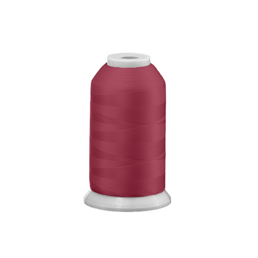 Exquisite Polyester Embroidery Thread - 530 Cranberry 1000M or 5000M