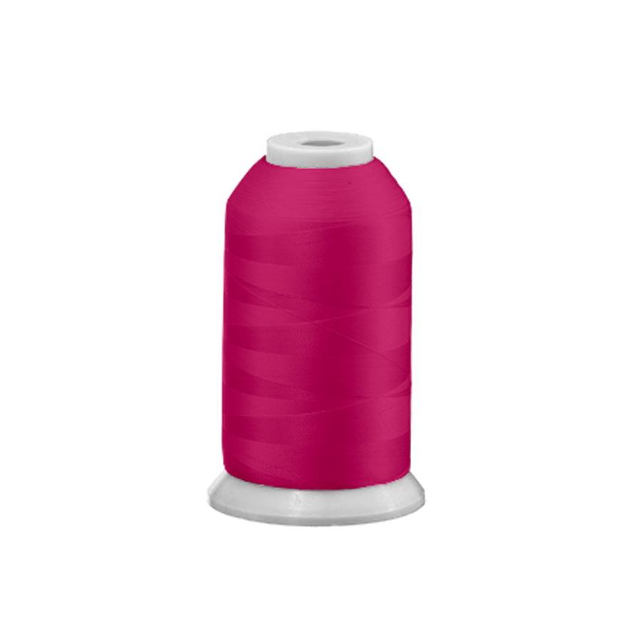 Exquisite Polyester Embroidery Thread - 54 Neon Fuchsia 1000M Spool