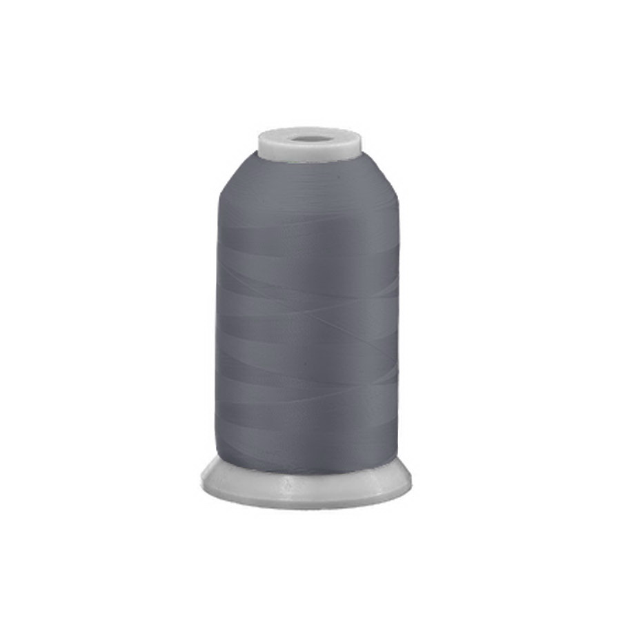 Exquisite Polyester Embroidery Thread - 585 Dark Grey 1000M or 5000M