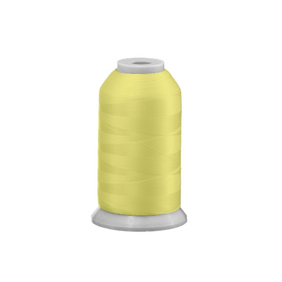 Exquisite Polyester Embroidery Thread - 632 Yellow Quartz 1000M or 5000M