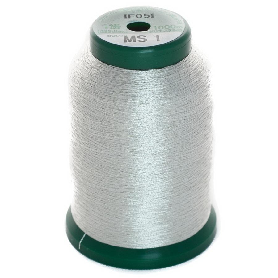 Exquisite Metallic Thread - A470031 Silver MS1 1000M Spool