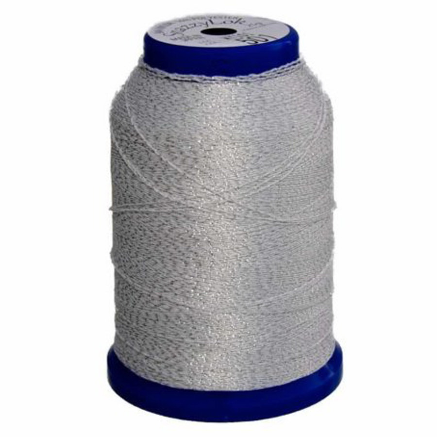 Exquisite Snazzy Lok Serger Thread - A760501 White 1000M Spool
