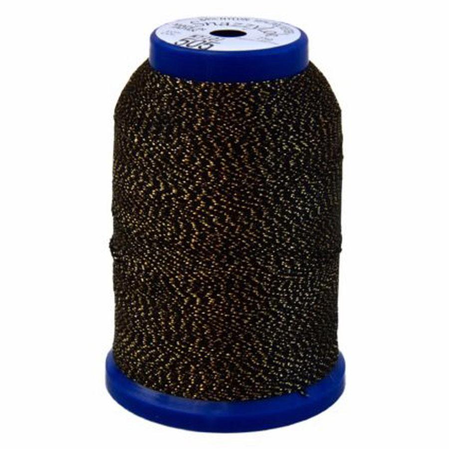 Exquisite Snazzy Lok Serger Thread - A760505 Dark Gray 1000M Spool