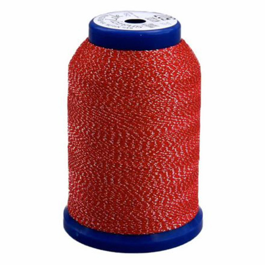 Exquisite Snazzy Lok Serger Thread - A760507 Red 1000M Spool