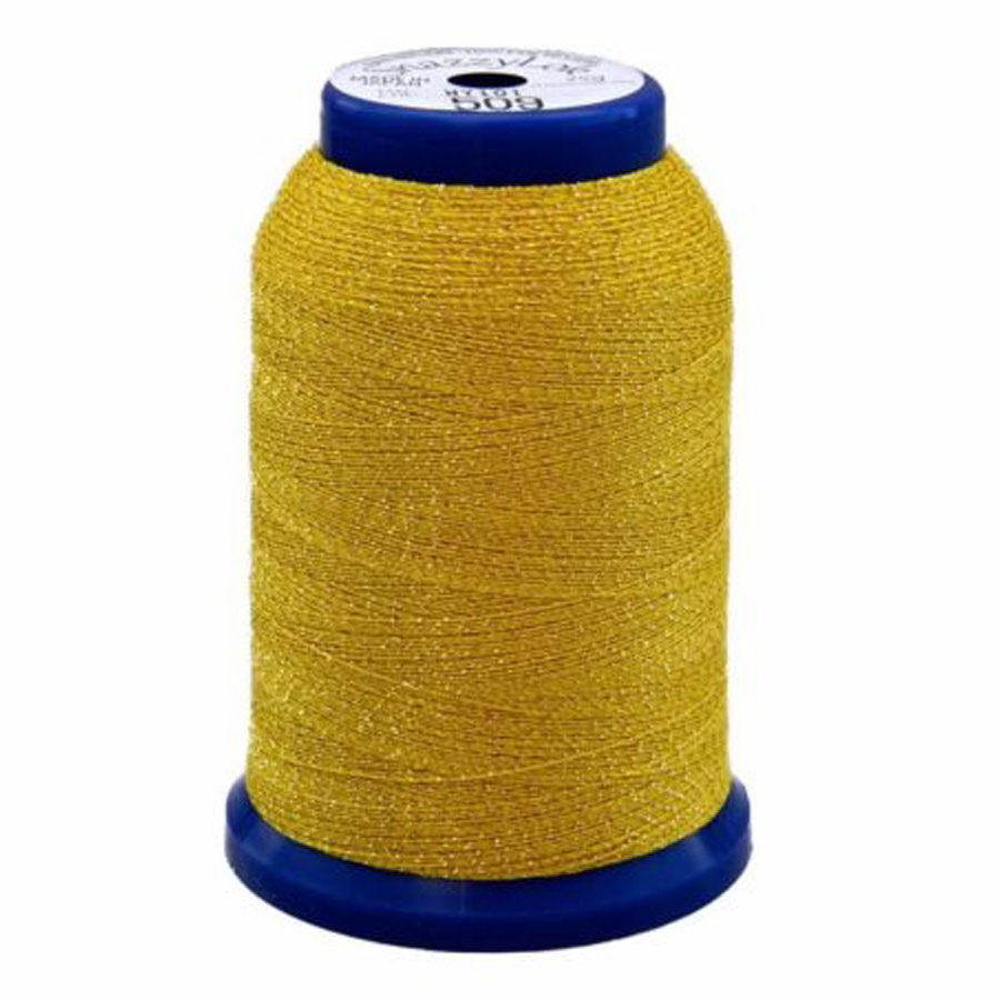 Exquisite Snazzy Lok Serger Thread - A760509 Yellow 1000M Spool
