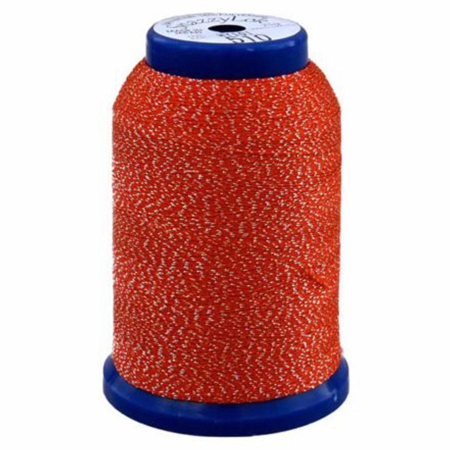 Exquisite Snazzy Lok Serger Thread - A760510 Orange 1000M Spool
