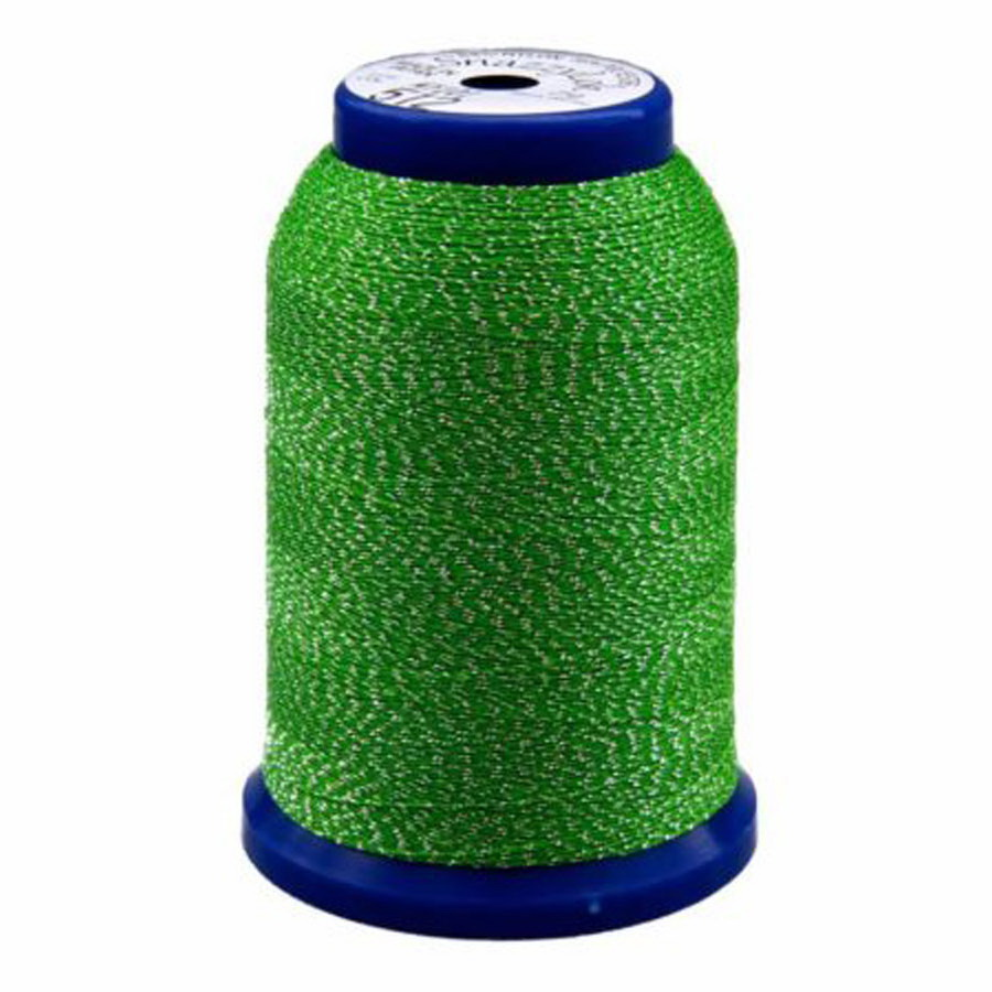 Exquisite Snazzy Lok Serger Thread - A760512 Green 1000M Spool