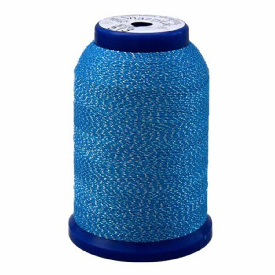 Exquisite Snazzy Lok Serger Thread - A760513 Blue 1000M Spool