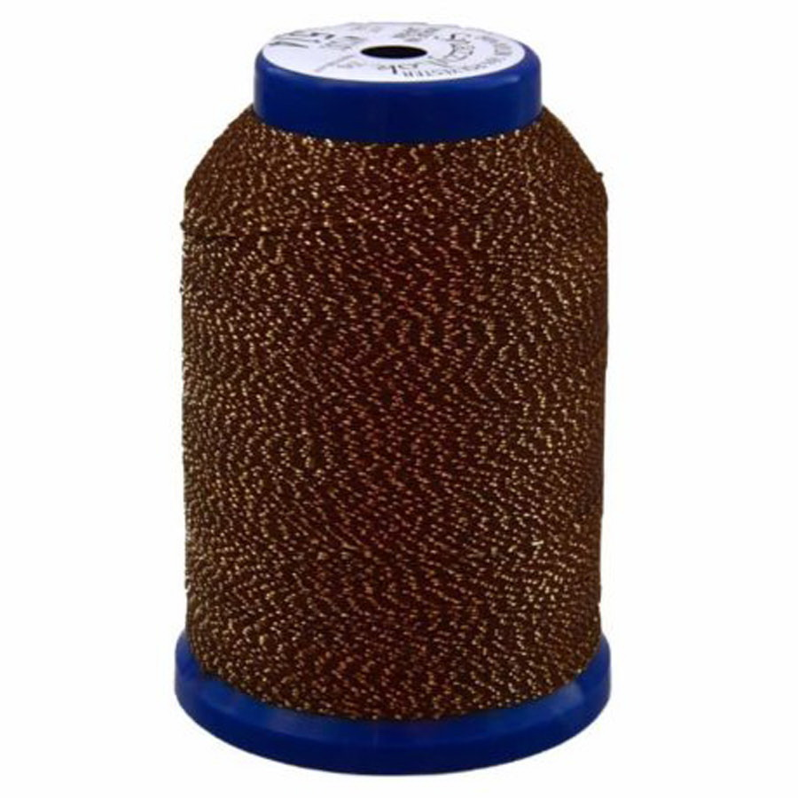 Exquisite Snazzy Lok Serger Thread - A760514 Brown 1000M Spool