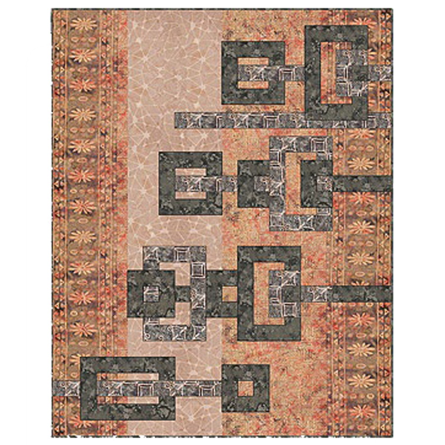 Counter Point Fabric Quilt Kit Version 1
