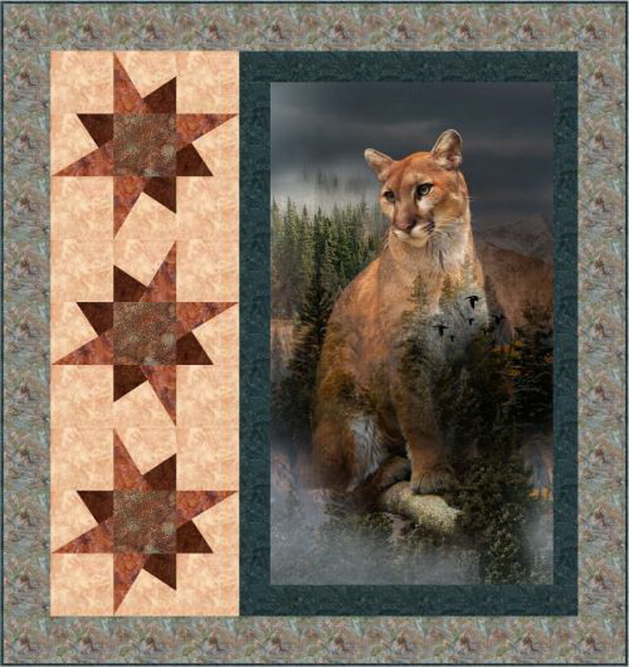 Mountain Pride Fabric Quilt Kit