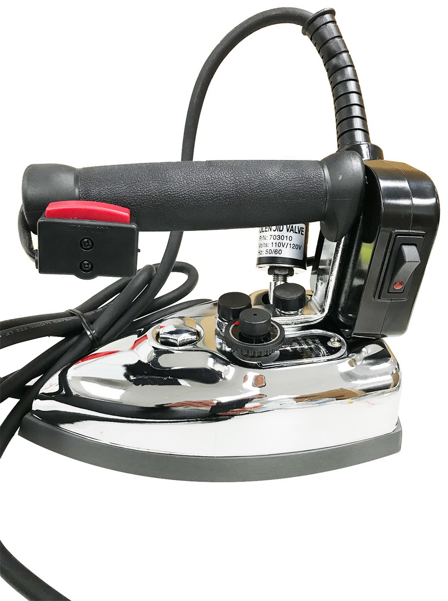 GoldStar GS-85AF Commercial Gravity Feed Steam Iron (Filter, Demineralizer, and Shoe Included)