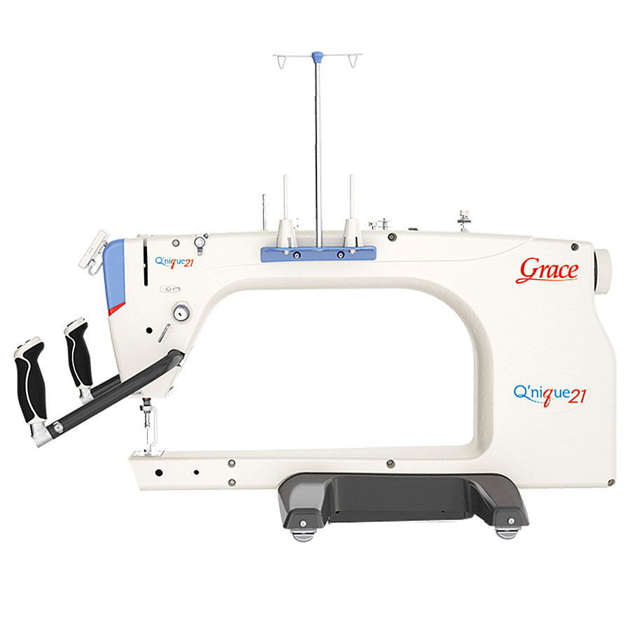 Qnique 21inch Long Arm Quilting Machine With Optional Quilting Frame