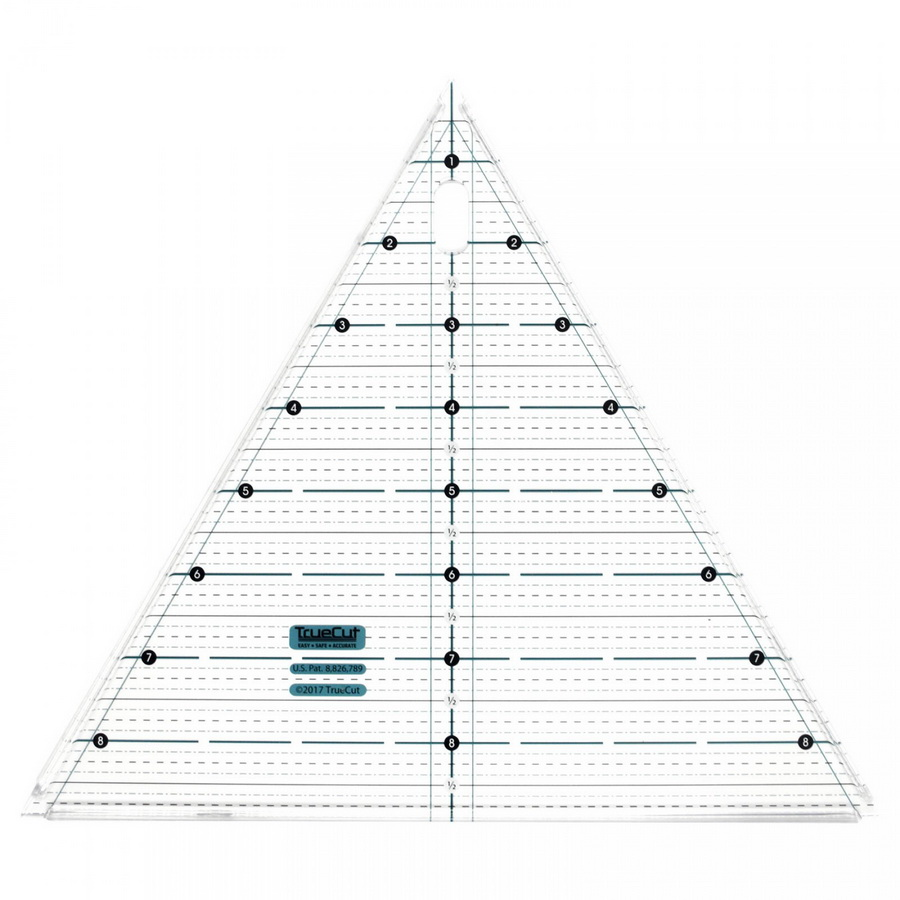 Grace TrueCut 60 Degrees Triangle Equilateral Ruler