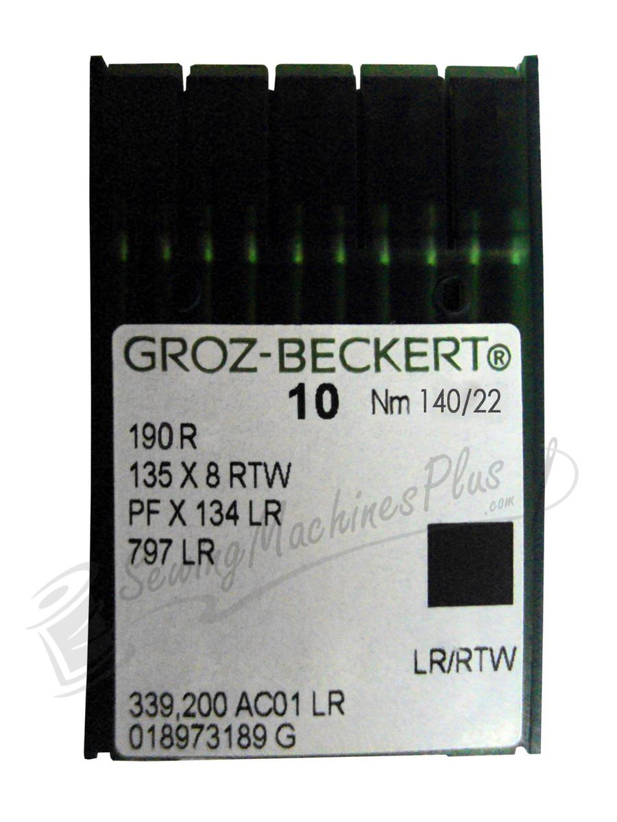Groz-Becker Needles 190R Size 140/22 10pk