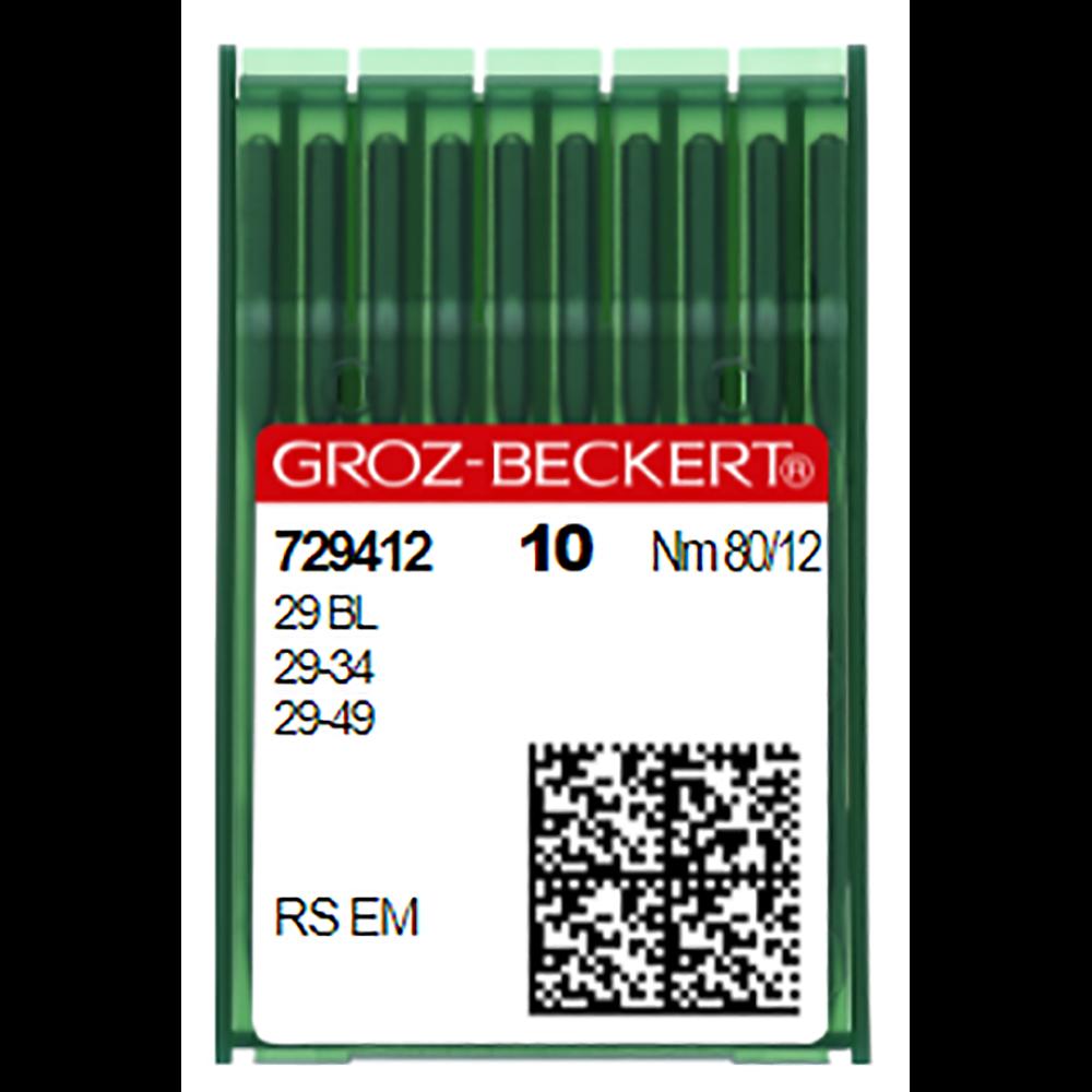Groz-Beckert Needles 29 BL/29-49/29-34 (Nm)80/12 (729412)