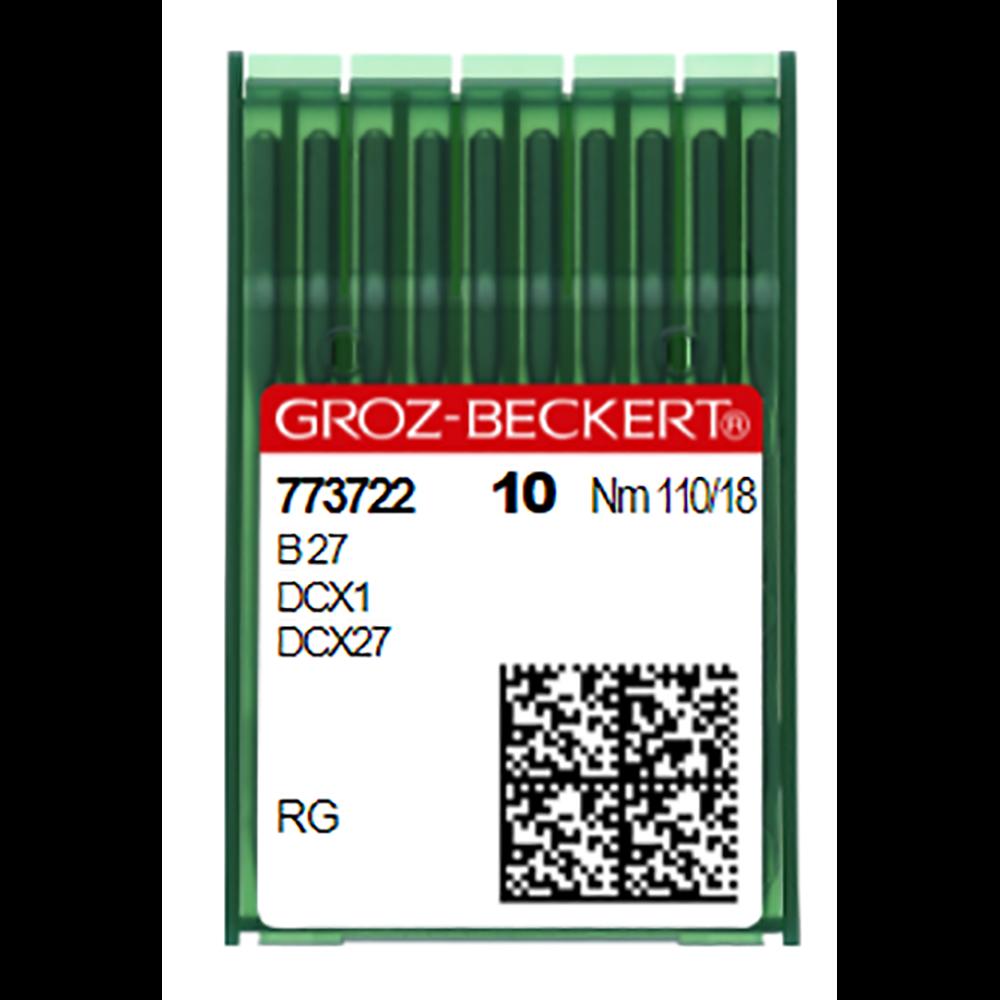 Groz-Beckert Needles 81x1 Chromium Size 110/18