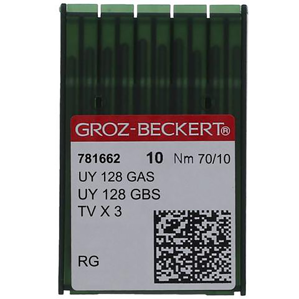 Groz-Beckert UYx128GAS (781662) 70/10 Needle-10 pk.