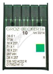 Groz-Beckert Needles Size 90/14  (16x257) 10pk