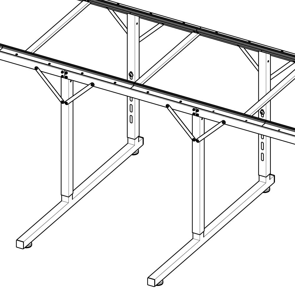 Handi Quilter Loft Frame 2-Foot Extension