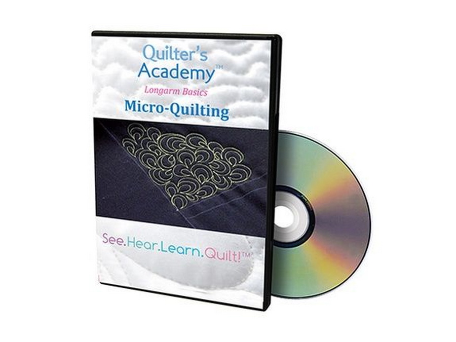 Handi Quilter Quilters Academy - Longarm Basics: Micro Quilting DVD (HL00416)
