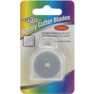 Havels 28mm Chenille Rotary Cutter Blades 2ct (7649-37)