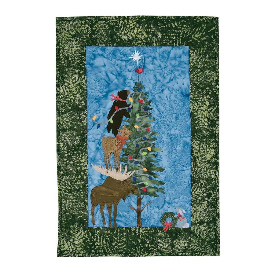 Hoffman Fabrics O' Christmoose Tree Fabric Kit Designed by McKenna Ryan