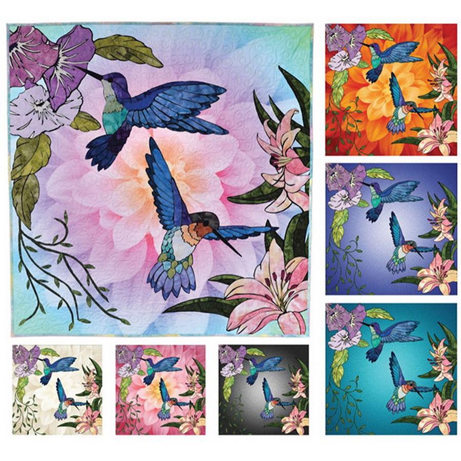 Hoffman Fabrics - Hummingbird Lane Quilt Kit