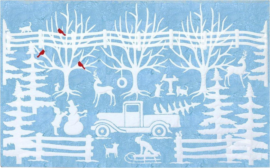 Winter In Wedgewood by Joanne Hoffman Fabric Kit (JHWW-541)