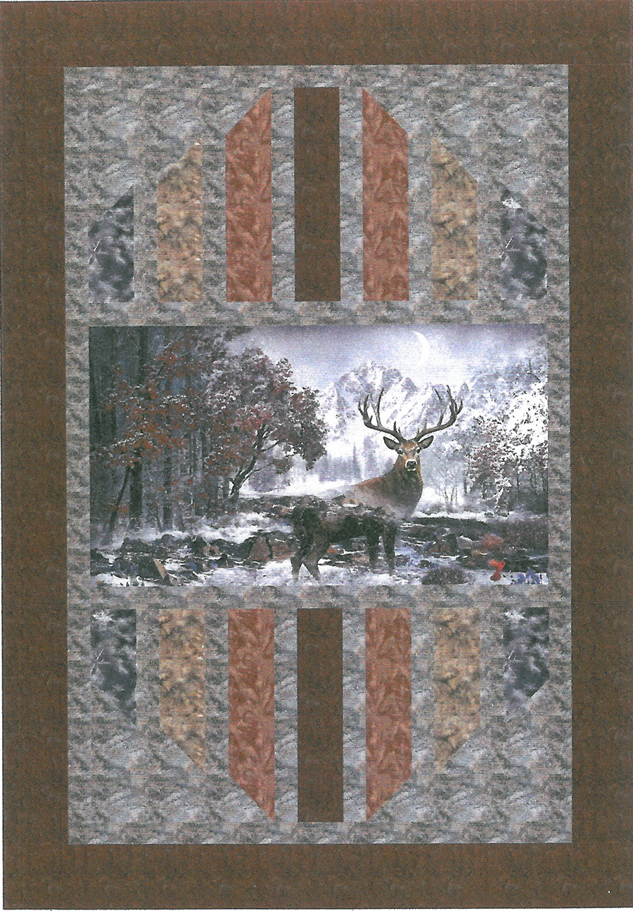 Mountain Peek Creations - Reflections Fabric Kit, Pattern #390