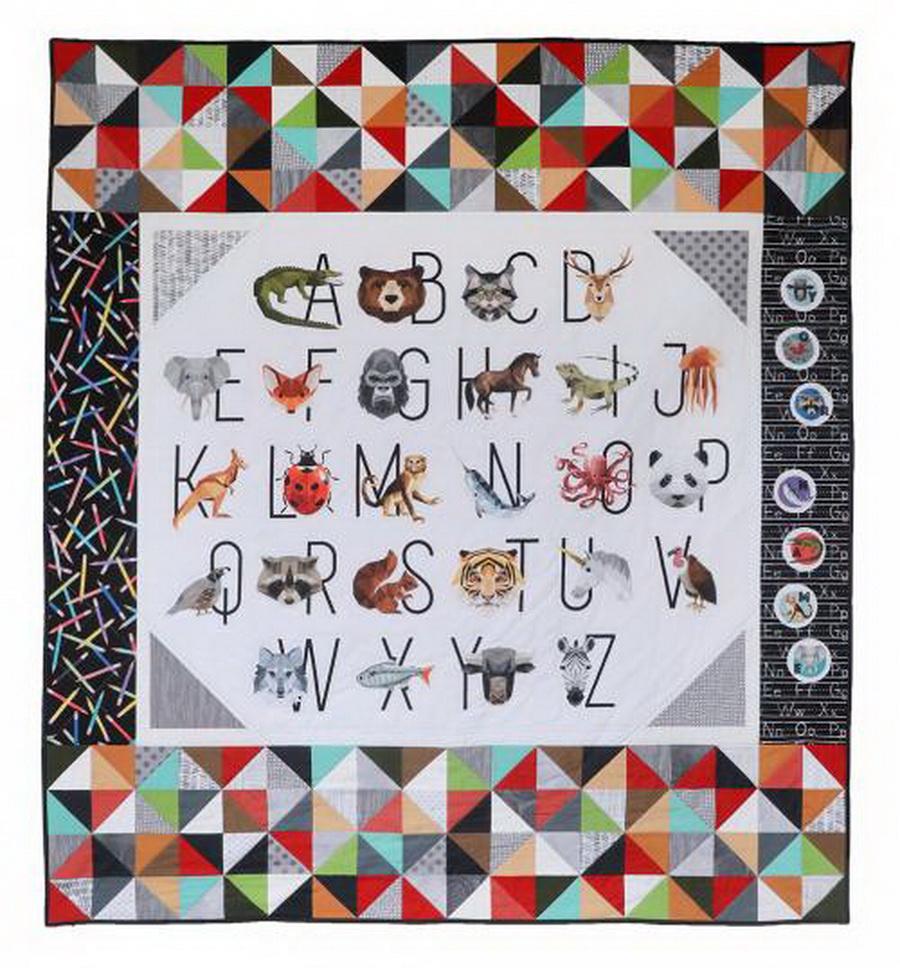 Zoovenir Fabric Quilt Kit by Karen Cunagin