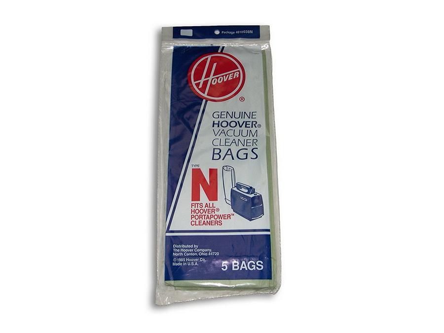 Genuine Hoover Vacuum Cleaner Bags, Type N